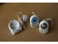 Tomy walkabout Platinum digital baby monitors