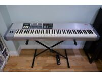 CME UF80 and UF-DP1 expansion 88 key weighted stage piano controller keyboard wireless MIDI