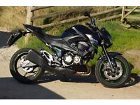 Kawasaki Z800 2014, low mileage, recently had 2 year service, open to offers