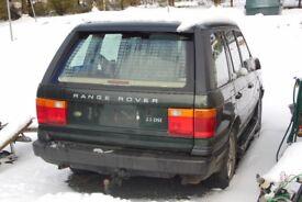 Range Rover P38 Diesel Spares or repairs