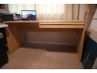 IKEA 'ANTON' Birch Veneer Desk