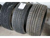 Tyres 235/35ZP19