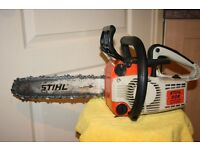 Petrol Stihl 009 chainsaw in excellent condition
