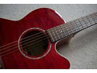 RARE Takamine EG440C Cherry Red Electro-Acoustic Guitar