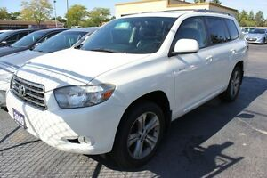 2009 Toyota Highlander V6 Sport Leather Sunroof