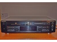 Sony Compact Disc and Mini Disk Player Recorder Deck MXD-D4