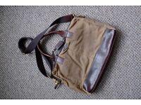 Fossil Wyatt Canvas Laptop Work Bag for SALE!