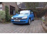 ( Car Now Sold 23.02.17) Vauxhall Corsa Comfort 1.2 3 Door Hatchback 5 Speed Manual