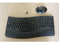 Microsoft Sculpt Comfort Desktop Keyboard & Mouse Set
