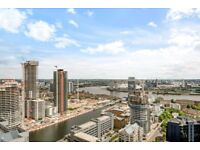 STUNNING TWO BEDROOMS WITH BALCONY & 24 HOUR CONCIERGE IN EAST TOWER, PAN PENINSULA, CANARY WHARF