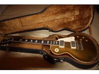 Vintage 1957 Gibson Les Paul Standard Goldtop Conversion