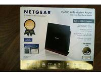 Netgear D6300-100UKS Router (top of the range)