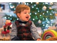 Christmas Newborn/Family Photography at Home