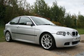2004 BMW 3 Series 2.5 325ti M Sport Compact 3dr AUTO, LOW MILEAGE, HUGE SPEC, WARRANTY, PX WELCOME