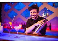 Barback, Bartender Required, Central London, Immediate Start