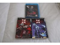 Devil May Cry Manga Code 1-Dante and Code 2-Vergil + Devil May Cry Complete Series Anime Blu Ray DVD
