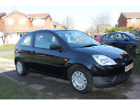 Ford Fiesta. Low mileage. Panther black mettalic.