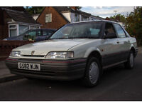 1990 Rover 414SLI Cheap usable future classic, 1 day left on Mot.