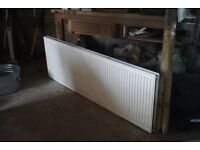 Double sided radiator – unused - in good condition 1800mm x 600mm