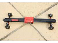 Kamerar Video Camera Slider Dolly 24 inch (60 cm) Camcorder for SLR for Sale!