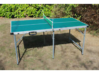 Table Tennis table, very good condition, portable, not full size, garage / consevatory / patio ?