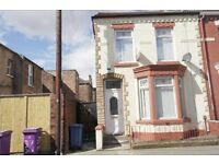 75 Makin Street, Walton 3 bedroom terraced to let with DG & GCH. DSS WELCOME