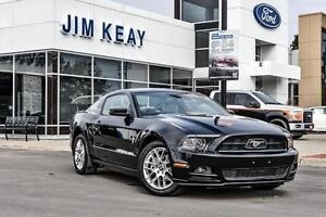 2013 Ford Mustang V6 COUPE PREMIUM W/ LEATHER