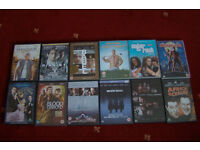 Job Lot / Bundle of 12 Used, DVDs (B)