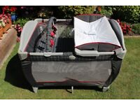 Graco Contour Travel Cot with mattress - IMMACULATE CONDITION!