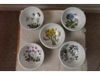 Portmeirion Botanic Garden Plates and Bowls