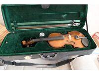 Cremona 3/4 size violin