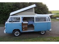 1973 VW WESTFALIA Baywindow Campervan