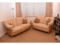 3 and 2 seater Ercol Renaissance Sofas