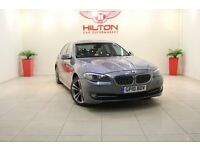 BMW 5 Series 2.0 520d SE 4dr (grey) 2010