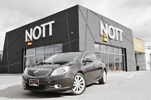 2013 Buick Verano Leather PKG., NAV., Back-up Cam, Parking Senso