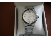 BNWT Pulsar Gents Stainless Steel Bracelet Watch PS9403X1