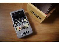 Electro Harmonix Soul Preacher Nano Series Compressor/ Sustainer pedal