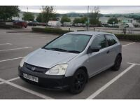Honda Civic 1.4 2003 3dr petrol cheap insurance tax fuel offers welcome good ...
