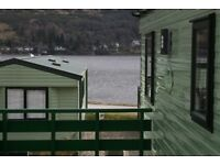 Cozy DG/CH holiday home with Decking.Drimsynie one hour from Glasgow.Holiday EVERY weekend..52 weeks