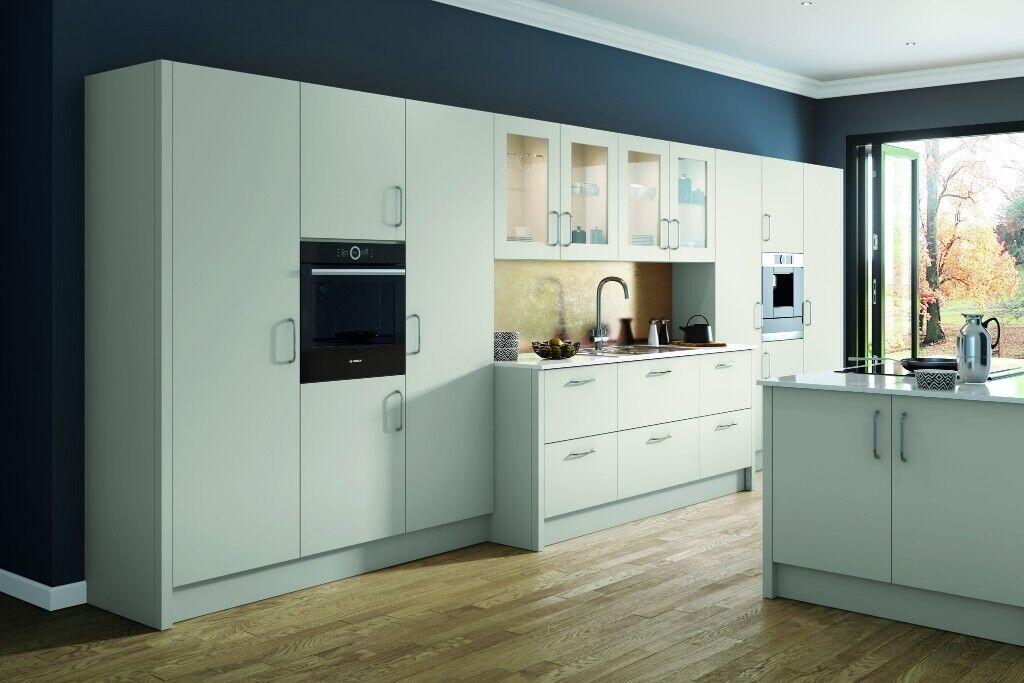Vivo Matt Lightt Grey Complete Kitchen Cabinets Package Offer New By Krypton Kitchen In Ladywood West Midlands Gumtree