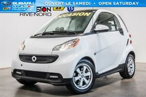 2015 smart fortwo Passion MAGS+TOIT.PANO+SIEGES.CHAUFFANTS