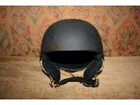 Salomon JIB Junior Black Matt Ski Helmet
