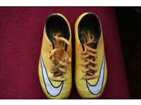 Boys Nike 'Mercurial' Astro Turf Football Boots size 1