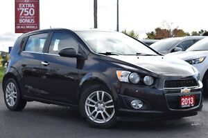 2013 Chevrolet Sonic LT | SUNROOF | GAS SAVER | HATCHBACK