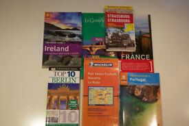 EUROPE Various TRAVEL GUIDES x 5 and MAPS x 2