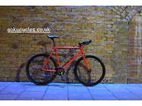 Special Offer GOKU CYCLES Steel Frame Single speed road bike TRACK bike fixed gear BIKE AA2