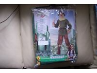 Rubies Child Scarecrow Wizard of Oz Kids Book Movie Fancy Dress Costume 886490, Size Medium age 5-7