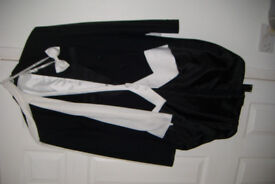 Gentlemans evening tails outfit XL as new