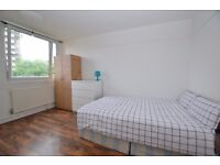 2 Large Modern Double Rooms Near Aldgate East**FLAT SHARE**