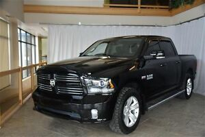 2014 Dodge Ram 1500 SPORT CREW CAB, 4X4 WITH NAVIGATION, HEATED